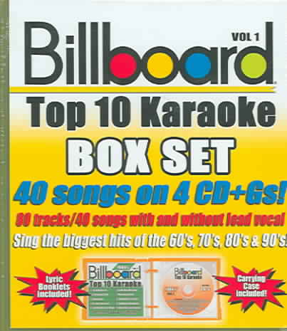 BILLBOARD TOP 10 KARAOKE VOL 1 (CD)
